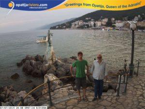 Lux Aeterna team in Rijeka Opatia