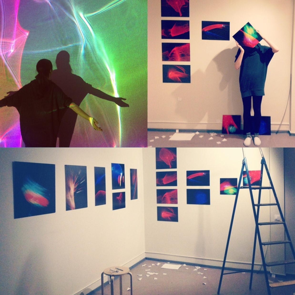 Laser Painting Exhibition by Lux Aeterna Theatre